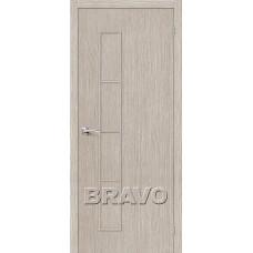 Дверь BRAVO Тренд-3 ДГ 3D Cappuccino