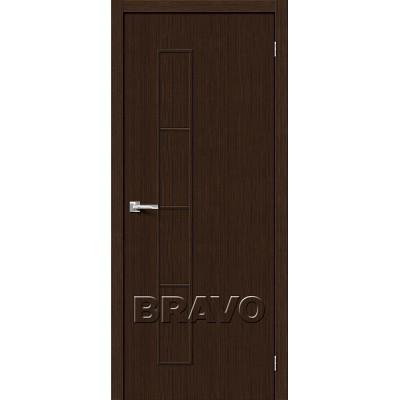 Дверь BRAVO Тренд-3 ДГ 3D Wenge