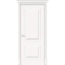 Дверь шпонированная BRAVO MR.WOOD Вуд Классик-12 ДГ Whitey
