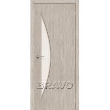 Дверь BRAVO Мастер-6 3D Coppuccino CТ-Magic Fog