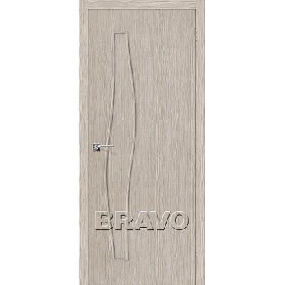 Дверь BRAVO Мастер-7 ДГ 3D Cappuccino