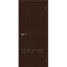 Дверь BRAVO Мастер-7 ДГ 3D Wenge