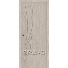 Дверь BRAVO Мастер-9 ДГ 3D Cappuccino