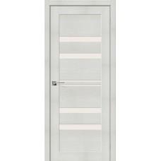 Дверь экошпон BRAVO el'PORTA Порта-30 ДО Bianco Veralinga со стеклом Magic Fog