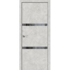 Дверь экошпон BRAVO el'PORTA Порта-55 4А ДГ Grey Art