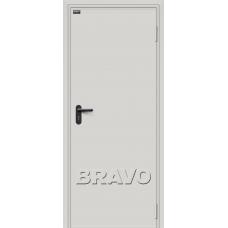 Дверь противопожарная BRAVO ДП-1 Серый RAL 7035