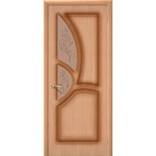 Дверь шпонированная BRAVO Греция ДО Ф-01 Дуб со стеклом художественным
