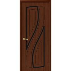 Дверь шпонированная BRAVO Лагуна ДГ Ф-17 Шоколад