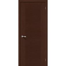 Дверь шпонированная BRAVO Рондо ДГ Ф-27 Венге