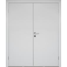 Дверь пластиковая Etadoor ДГ Белый двустворчатая