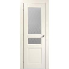 Дверь CPL Краснодеревщик 6334 ДО Слоновая кость