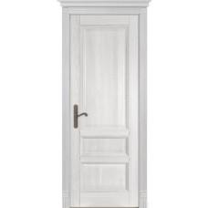 Дверь шпон дуба ОКА Аристократ 1 ДГ Белый