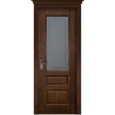 Дверь шпон дуба ОКА Аристократ 2 ДО Античный орех