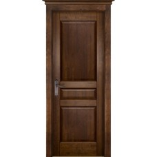 Дверь массив ольхи ОКА Валенсия ДГ Античный орех