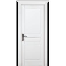 Дверь массив ольхи ОКА Валенсия ДГ Эмаль белая