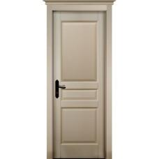 Дверь массив ольхи ОКА Валенсия ДГ Эмаль слоновая кость