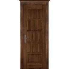Дверь массив ольхи ОКА Лондон 1 ДГ Античный орех