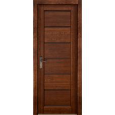 Дверь массив ольхи ОКА Премьер плюс Античный орех