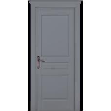 Дверь массив сосны браш ОКА Валенсия ДГ Эмаль грей