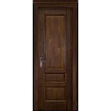 Белорусская дверь массив дуба Мильяна ОКА Аристократ 1 ДГ Античный орех