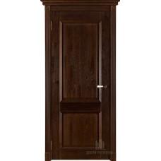 Дверь массив дуба Двери Регионов Ока Афина ДГ Античный орех
