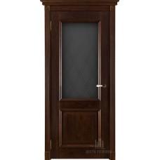 Дверь массив дуба Двери Регионов Ока Афина ДО Античный орех
