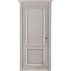 Дверь массив дуба Двери Регионов Ока Афина ДГ Эмаль слоновая кость