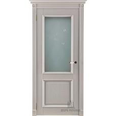 Дверь массив дуба Двери Регионов Ока Афина ДО Эмаль слоновая кость