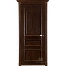 Дверь массив дуба Двери Регионов Ока Афродита ДГ Античный орех