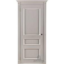 Дверь массив дуба Двери Регионов Ока Афродита ДГ Эмаль слоновая кость