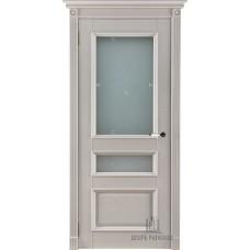 Дверь массив дуба Двери Регионов Ока Афродита ДО Эмаль слоновая кость