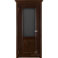Дверь массив дуба Двери Регионов Ока Селена ДО Античный орех