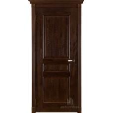 Дверь массив дуба Двери Регионов Ока Виктория ДГ Античный орех