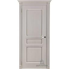 Дверь массив дуба Двери Регионов Ока Виктория ДГ Эмаль слоновая кость