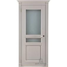 Дверь массив дуба Двери Регионов Ока Виктория ДО Эмаль слоновая кость