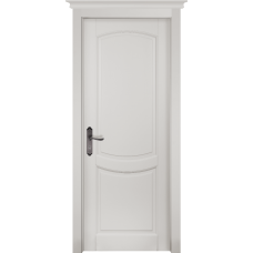 Белорусская дверь массив ольхи Герда Мильяна ОКА Бристоль ДГ Эмаль белая