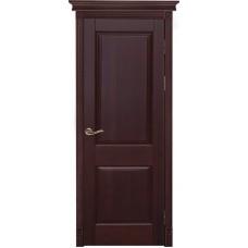 Дверь массив ольхи Рубин Элегия ДГ Махагон