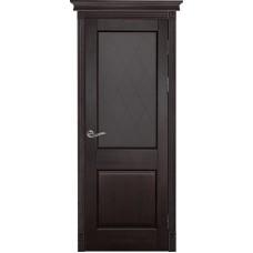 Дверь массив ольхи Рубин Элегия ДО Венге