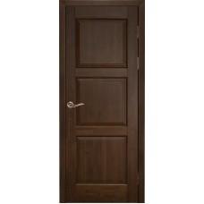Дверь массив ольхи Рубин Турин ДГ Античный орех
