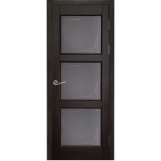 Дверь массив ольхи Рубин Турин ДО Венге