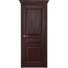 Дверь массив ольхи Рубин Валенсия ДГ Махагон