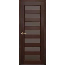 Дверь массив ольхи Рубин Премьер+ ДО Махагон
