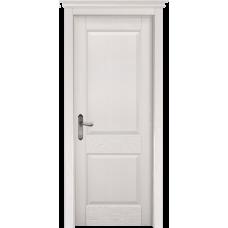 Белорусская дверь массив сосны Мильяна ОКА Элегия ДГ Эмаль белая