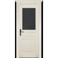 Белорусская дверь массив сосны Мильяна ОКА Валенсия ДО Эмаль слоновая кость