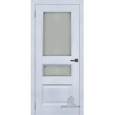 Дверь RegiDoors Аликанте 2 ДО Серый шелк RAL 7047