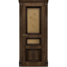 Дверь RegiDoors Барселона ДО Brandy со стеклом Соната
