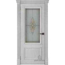 Дверь RegiDoors Корсика ДО Perla с витражом Маэстро