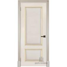 Дверь RegiDoors Британия ДГ Эмаль Слоновая кость с золотой патиной