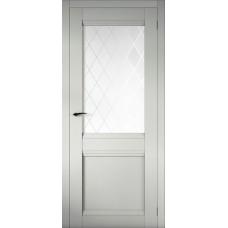 Дверь эмалит Regidoors Cobalt 12 ДО Манхэттен стекло Ромб