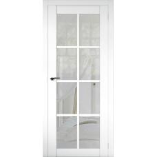Дверь эмалит Regidoors Cobalt 22 ДО Аляска стекло Рефлект